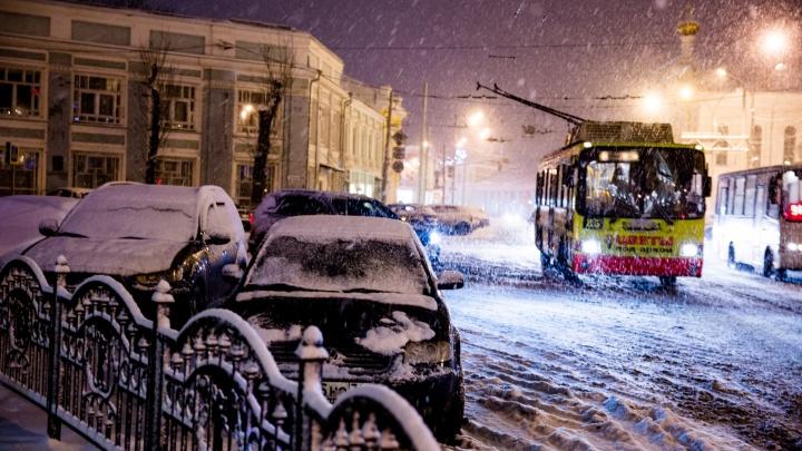 Это надолго: на Ярославль надвигается интенсивный снегопад