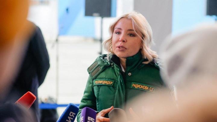 «Глоток чистого воздуха»: глава Росприроднадзора посетила омскую свалку и осталась недовольна