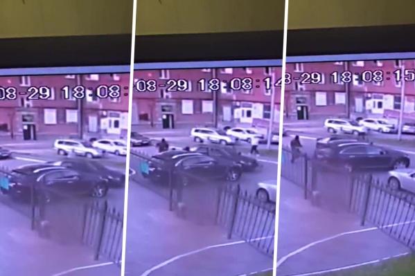 Попытка нападения попала на камеры 29 августа