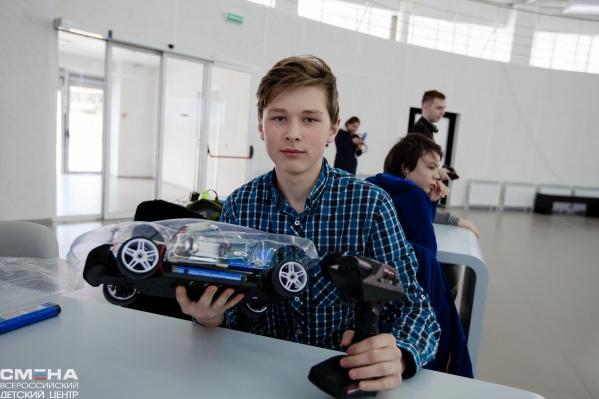 Машина пермских школьников ездит на водородном топливе