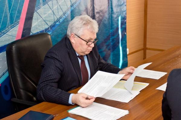 Сергей Титов был главой «Сибмоста» почти год