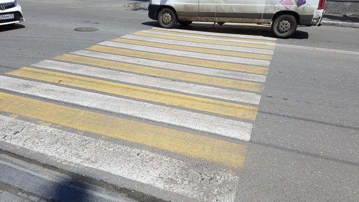 В Кургане водитель сбил ребенка на нерегулируемом пешеходном переходе