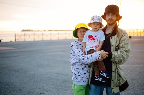 Яна, Варвара и Андрей Кипрей