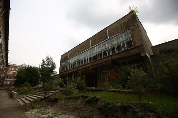 Здание признали аварийным и планируют снести