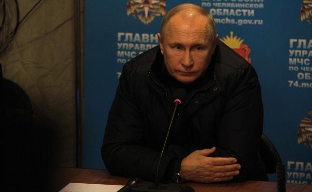 Путин в оперативном штабе доложили последние данные о трагедии