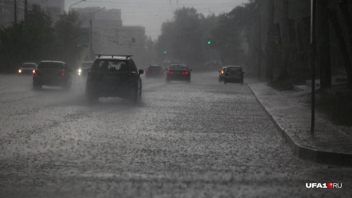 Доставайте дождевики и калоши: Башкирию накроют грозы с градом