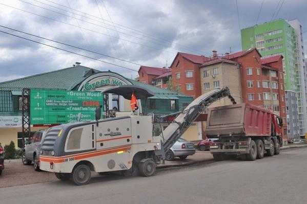 Из-за ремонта дорога будет перекрыта в течение двух дней