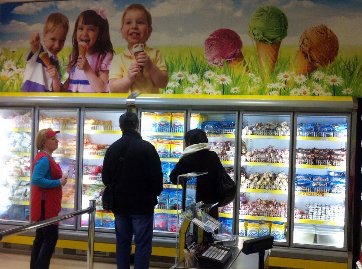 Традиционная распродажа мороженого началась