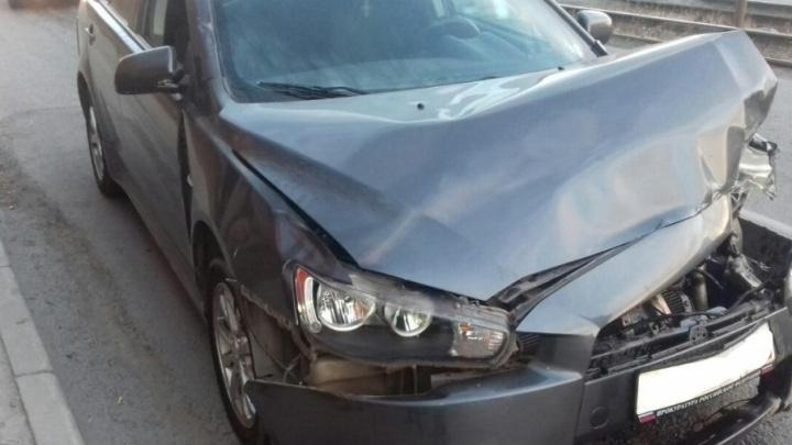 В Челябинске пьяный лишенник сбил пешехода и уехал с места ДТП