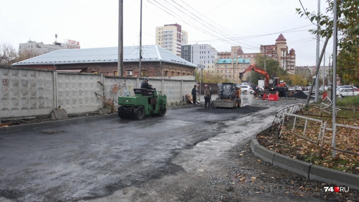«Просим потерпеть еще немного»: какие улицы перекроют в Челябинске в выходные
