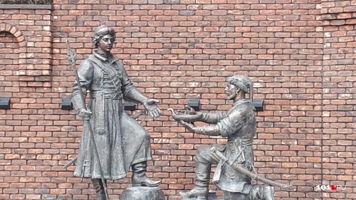 Подарок горожанам: в Ростове открыли памятник Петру Великому
