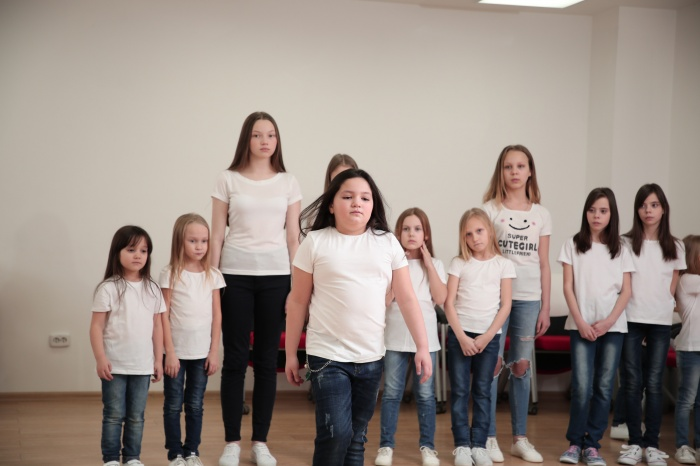 Под показы детских коллекций на Неделе моды в Екатеринбурге впервые выделили целый день