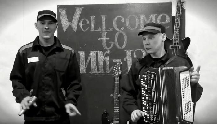 Хип-хопер Евгений Брусницын и баянист Евгений Кудрин из ИК-12
