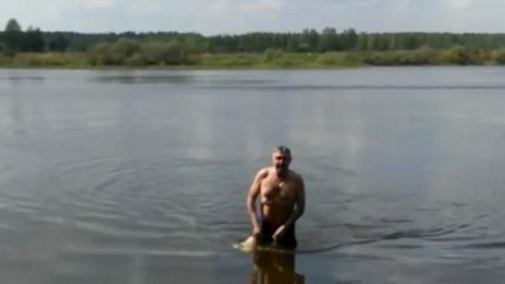 «Хорошо!» Ярославский депутат открыл купальный сезон