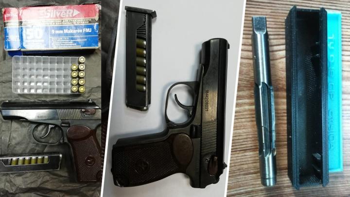 Торговали на улицах: в Самаре силовики накрыли подпольную мастерскую по переделке оружия