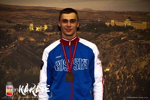 Илья Грановесов завоевал бронзовую медаль