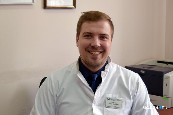 Врач-онколог Эдуард Семёнов