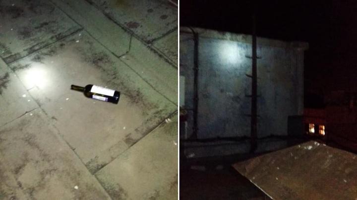 Алковечеринка трёх девочек на крыше в Тольятти закончилась приездом спасателей