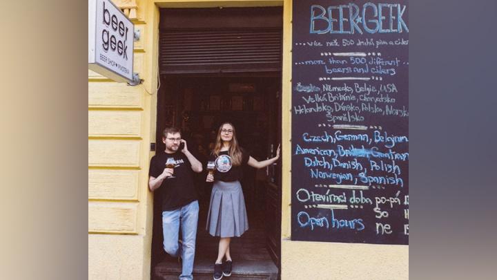 Как русские программисты Ольга и Руслан сделали один из лучших пивных баров в Праге