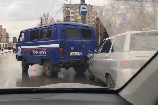 Авария произошла на улице Ново-Вокзальной перед Стара-Загорой
