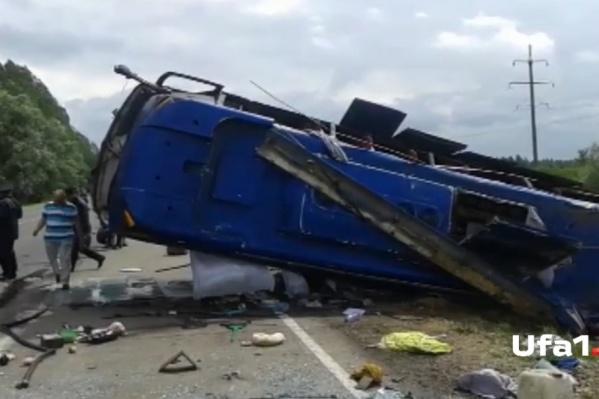 Серьезный вред причинен здоровью четверых пассажиров