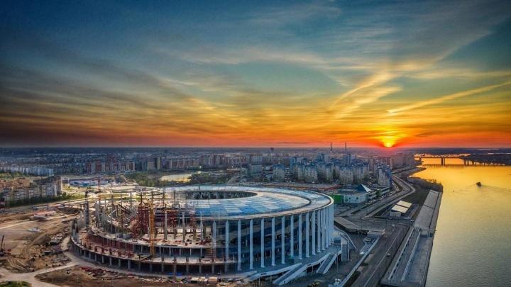 Фото дня. Нижегородская арена, на которой вершилась история мирового футбола
