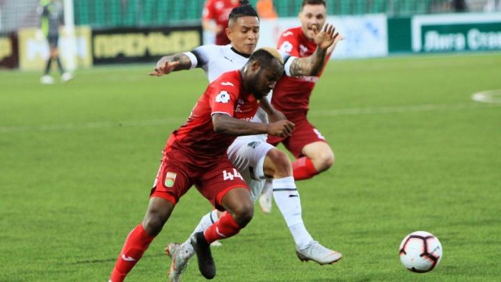 Досадное поражение: «Уфа» уступила «Краснодару» за четыре минуты до конца матча