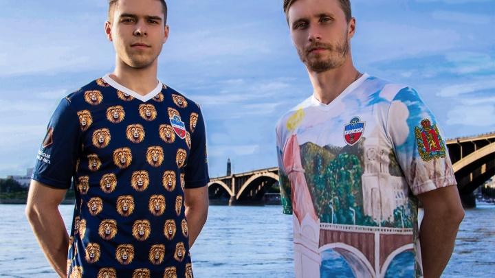 ФК «Енисей» представил необычную форму для матчей в премьер-лиге