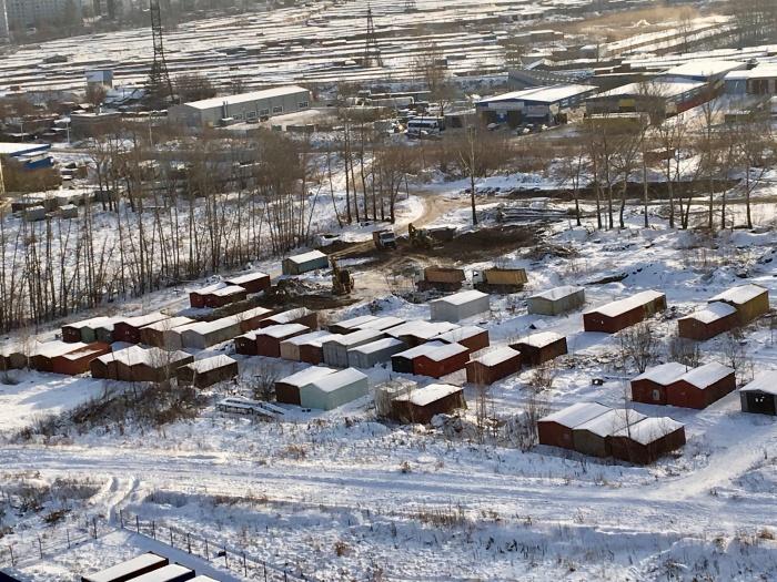 После сноса гаражей освободится участок площадью 2,4 гектара