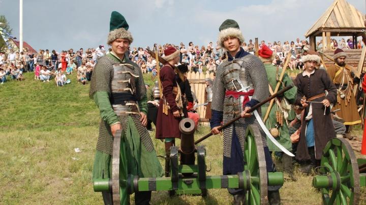 В «Омской крепости» устроят историческое огненное шоу