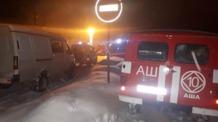 «Ожоги больше 60 процентов тела»: отец девочки, погибшей на пожаре в Аше, умер в больнице