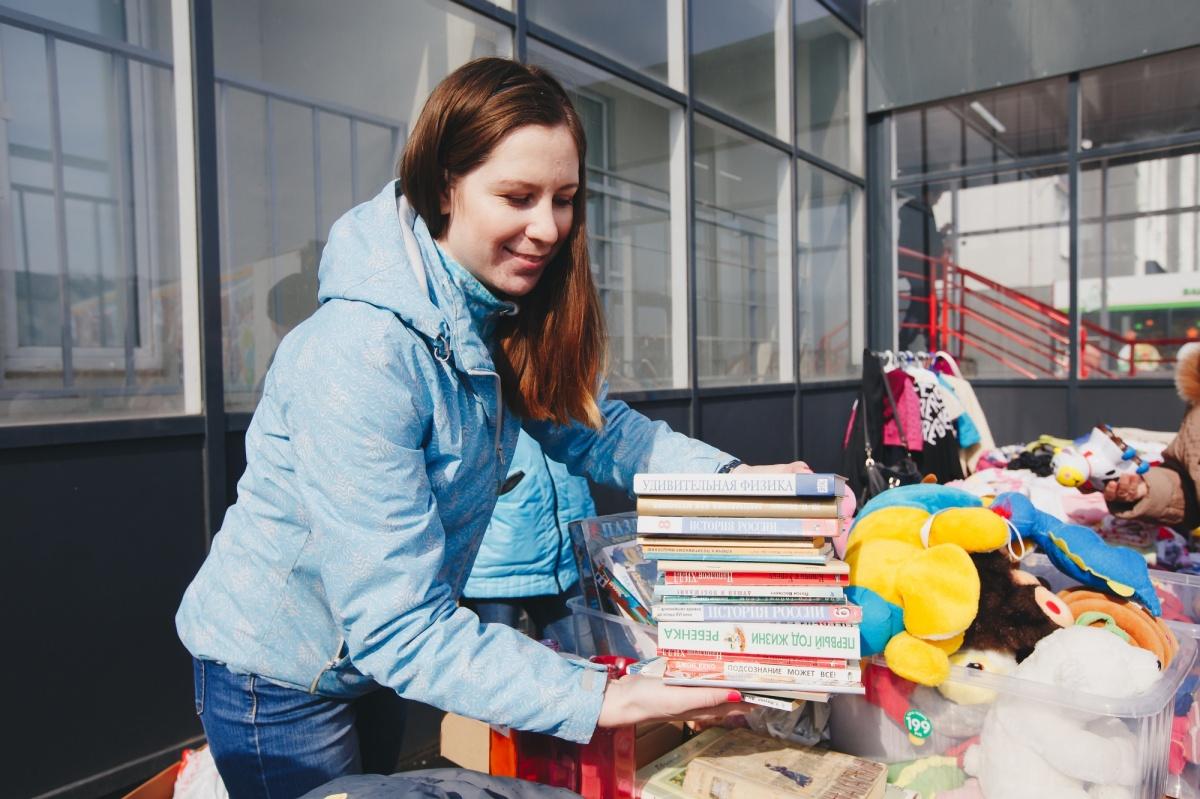 Минус 100 кг за два часа: экорайон «Вишневая горка» избавился от мусора и старых вещей
