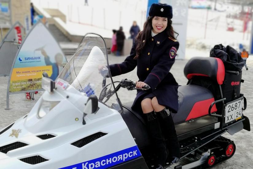Работа в полиции красноярск девушками работа девушкам в ресторанах москвы
