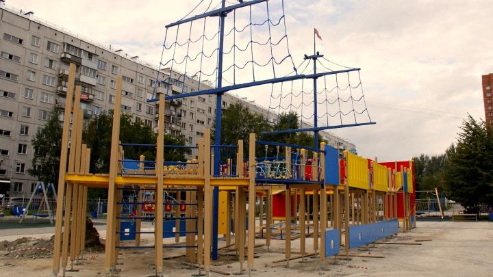 На месте разрушенного корабля Водяновой начали строить новый