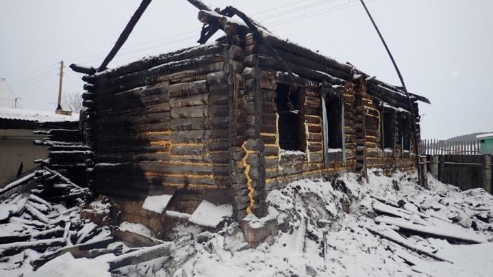 Осуждён виновник пожара в Юргамышском районе, где погибли мама с тремя детьми