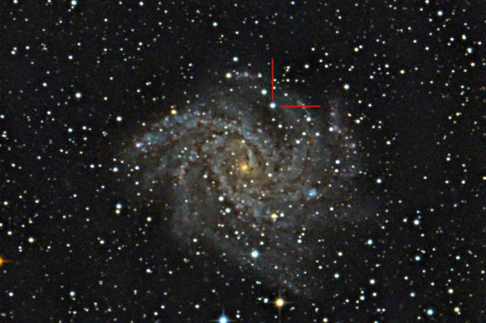 Фотограф новосибирского планетария Евгений Тихонов сделал снимок новой звезды