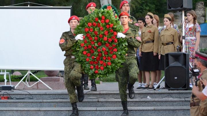 «Свеча памяти»: в Ростове почтили павших героев Великой Отечественной