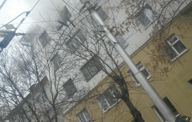 В пожаре на Кольцевой в Уфе погиб человек