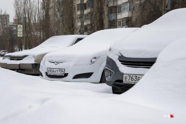 Волгоград начнет новую рабочую неделю с по-настоящему зимней погоды
