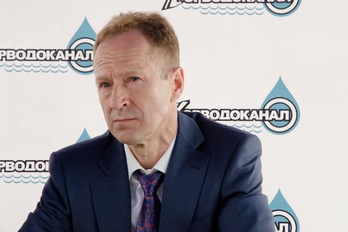 Юрий Похил руководит«Горводоканалом» с 1996 года
