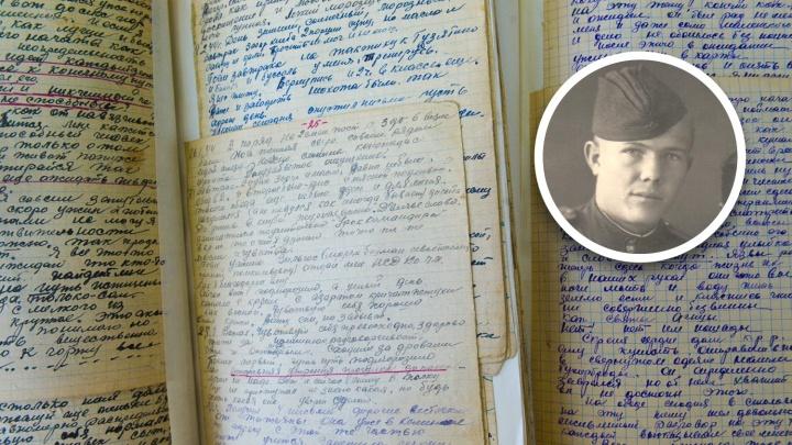 «Утро началось с того, что поймали немца»: дневники фронтовика, которые 30 лет пролежали в кладовке