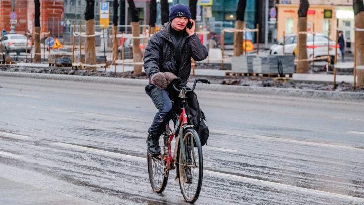 В Перми прошел ледяной дождь. Синоптики объяснили это наступлением полярного фронта