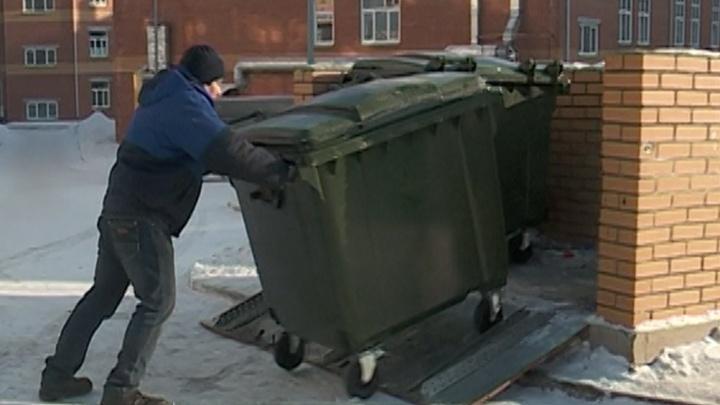 Левобережный оператор обеспечил красноярские школы и детские сады контейнерами под ТКО