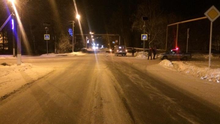 В Самарской области автомобилистка сбила двух пешеходов на зебре