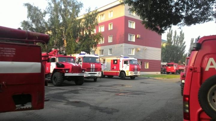 Ранним утром из общежития на улице Масленникова эвакуировали 40 человек