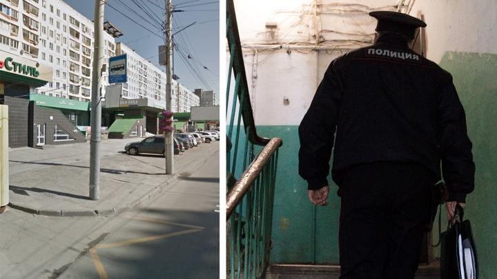 Новосибирец с мачете в руках встретил полицейских, пришедших для обыска