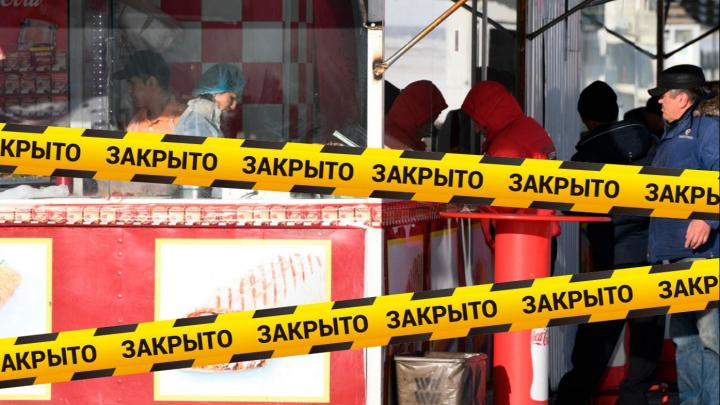 Киоск на Южном автовокзале, где готовят самсу среди мышей и тараканов, закрыли на два месяца