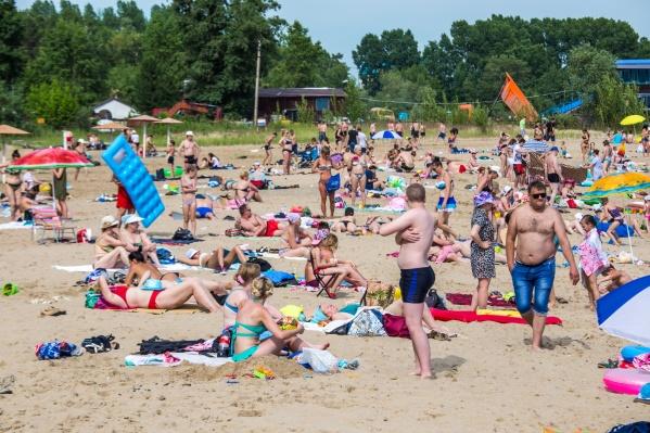 Инцидент произошёл на пляже «Бумеранг»