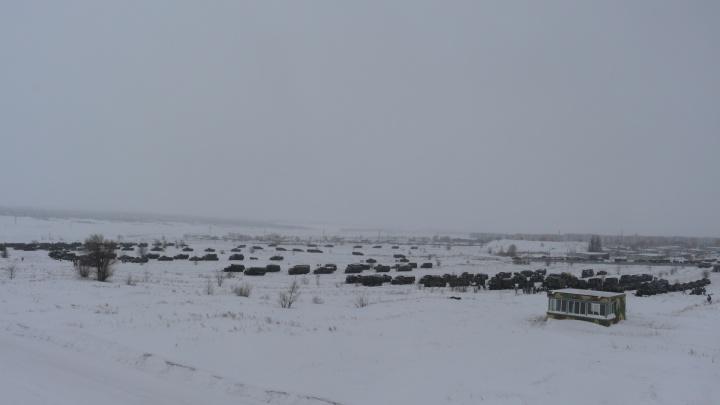 На полигоне в Рощинском военных научат печь хлеб в полевых условиях