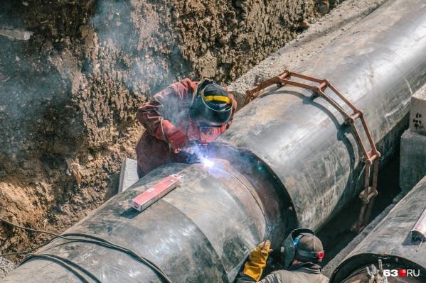 В планах теплоэнергетиков завершить основные ремонтные работы на объекте до конца дня